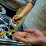 """Аппетитный мастер-класс для творческих сладкоежек """"Шоколадная живопись"""""""
