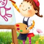 """Дитячий майстер-клас """"ВІДКРИЙ В СОБІ ХУДОЖНИКА!"""""""
